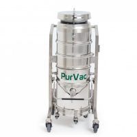 PurVac® AN30 Cleanroom Dry and Wet Cleaner | lowerable tank