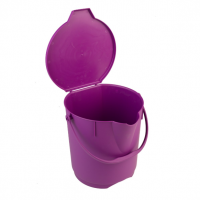 Anti-Microbial 12 Litre Ultra Hygienic Bucket with Lid
